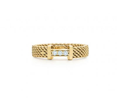 Gold Narrow Ring